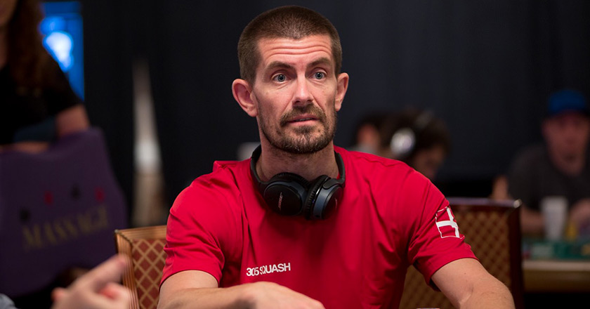 Покерист Гас Хансен.