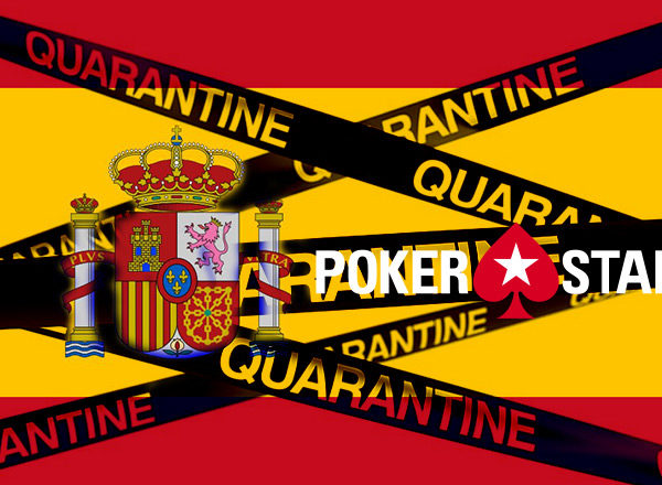 Испанский карантин и PokerStars
