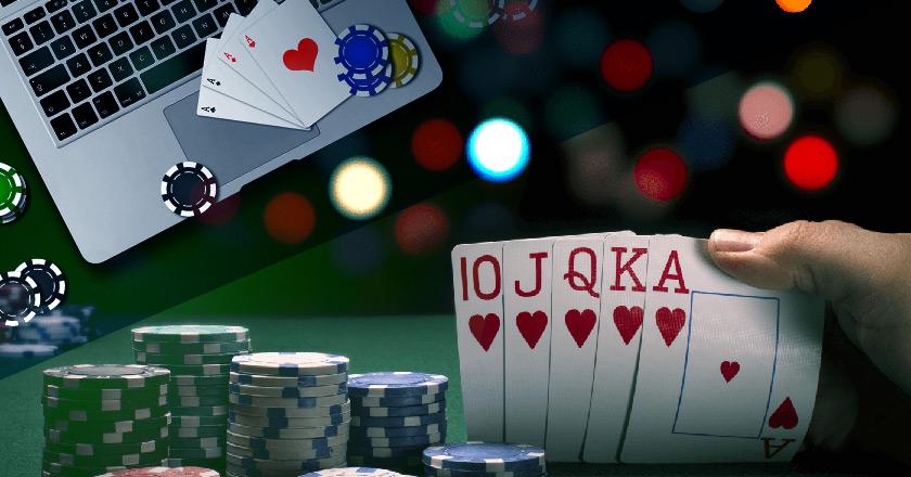 Разница между оффлайн и онлайн-покером.