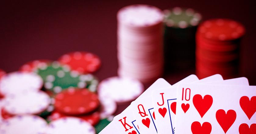 Соотношение размера стека к размеру ставок при игре в покер.