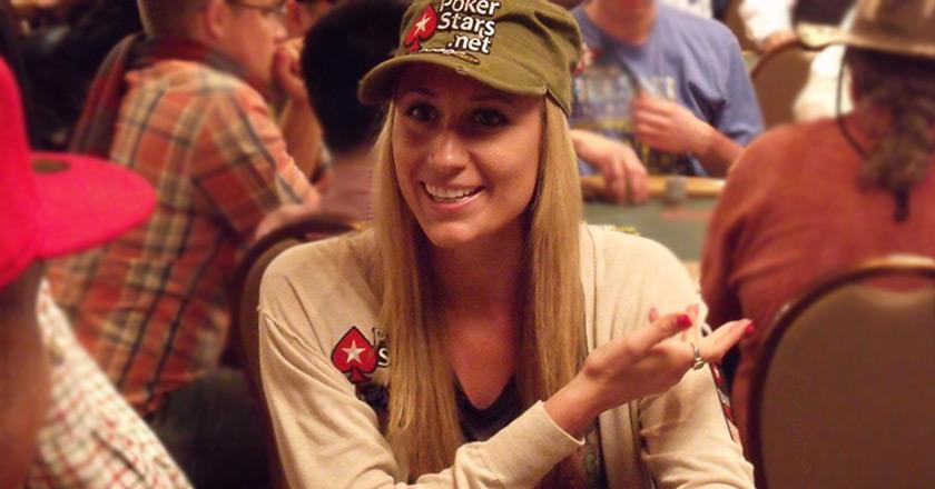 Покеристка Ванесса Руссо.